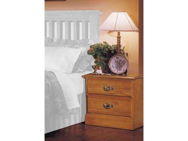 Carolina Furniture Works Bedroom Nightstand 232200 Davis