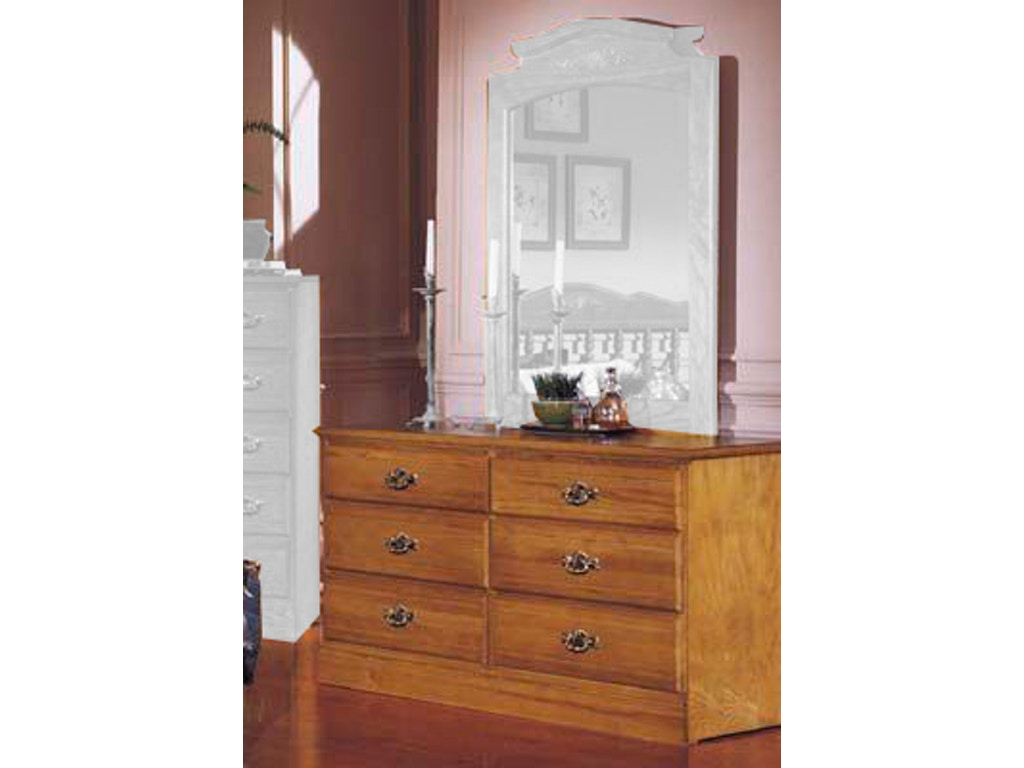 Carolina furniture works bedroom dresser 235600 sawmill for Carolina furniture
