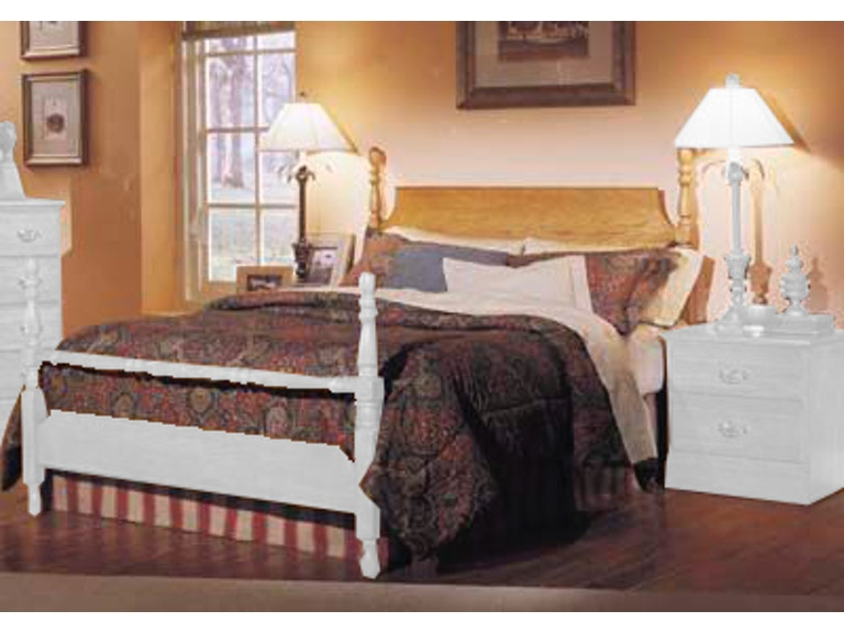Carolina Furniture Works Bedroom Poster Headboard 237240 At Pittsfield Co