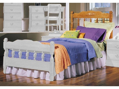 Carolina Furniture Works Bedroom Spindle Headboard