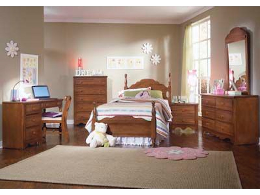 Carolina Furniture Works Youth Bedroom Student Desk 311400 Davis Furniture Poughkeepsie Ny