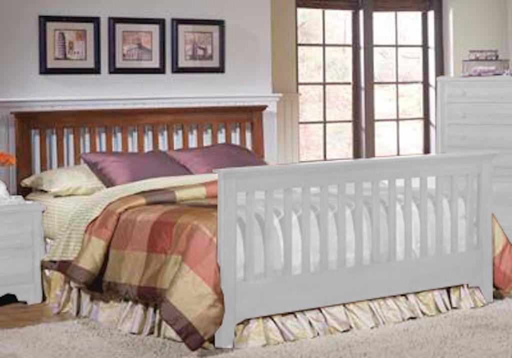 Carolina Furniture Works Bedroom Slat Footboard 317453