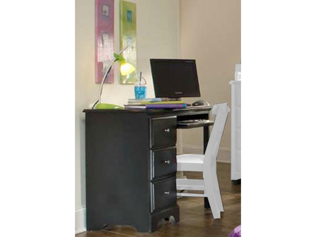 Carolina Furniture Works Youth Bedroom Computer Desk 431300 ...