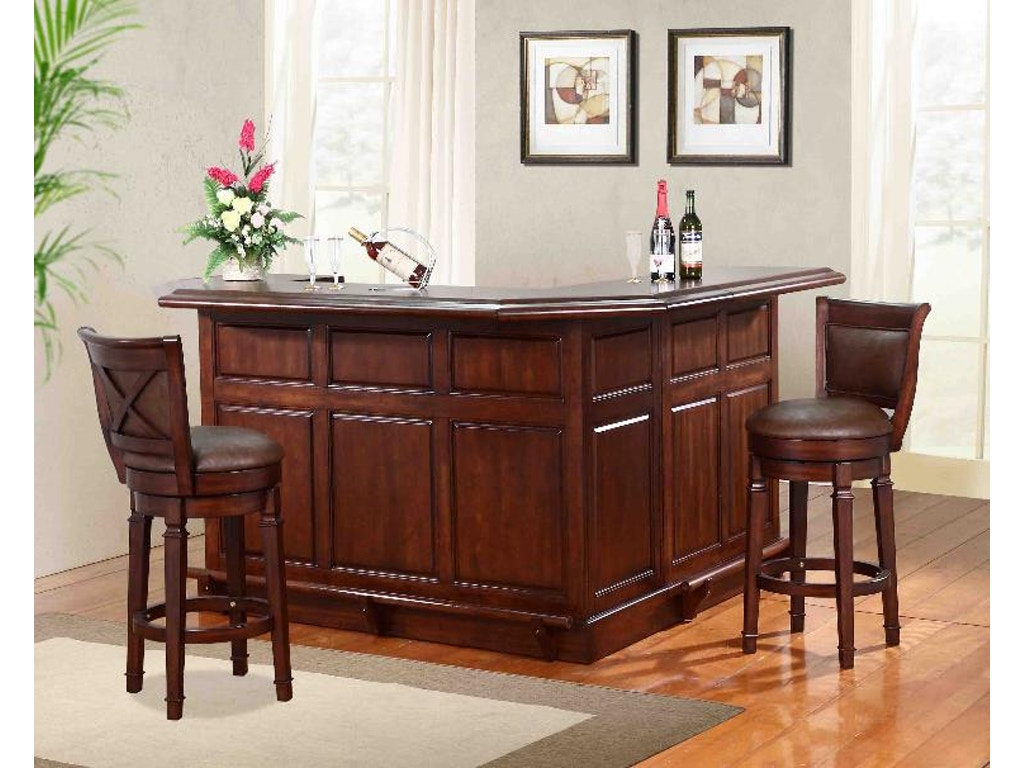 Eci bar and game room front bar 0411 35 t b r grossman for Furniture r us philadelphia