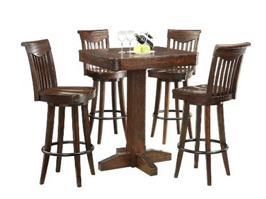 ECI Heavily Distressed Bar Height Dining Table 1475-05-PT36