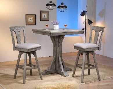 ECI Bar And Game Room Pub Table 0590 70 PGT/PGB   Gallery Furniture    Medford, NY