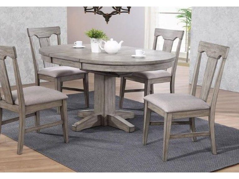 ECI Dining Room Round Dining Table RTRB Zing Casual - 70 round dining room table