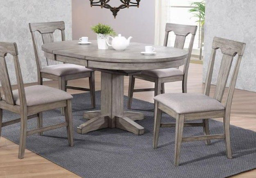 Eci Bar And Game Room Round Dining Table 0590 70 Rt Rb Smith Village Home Furnishings Jacobus