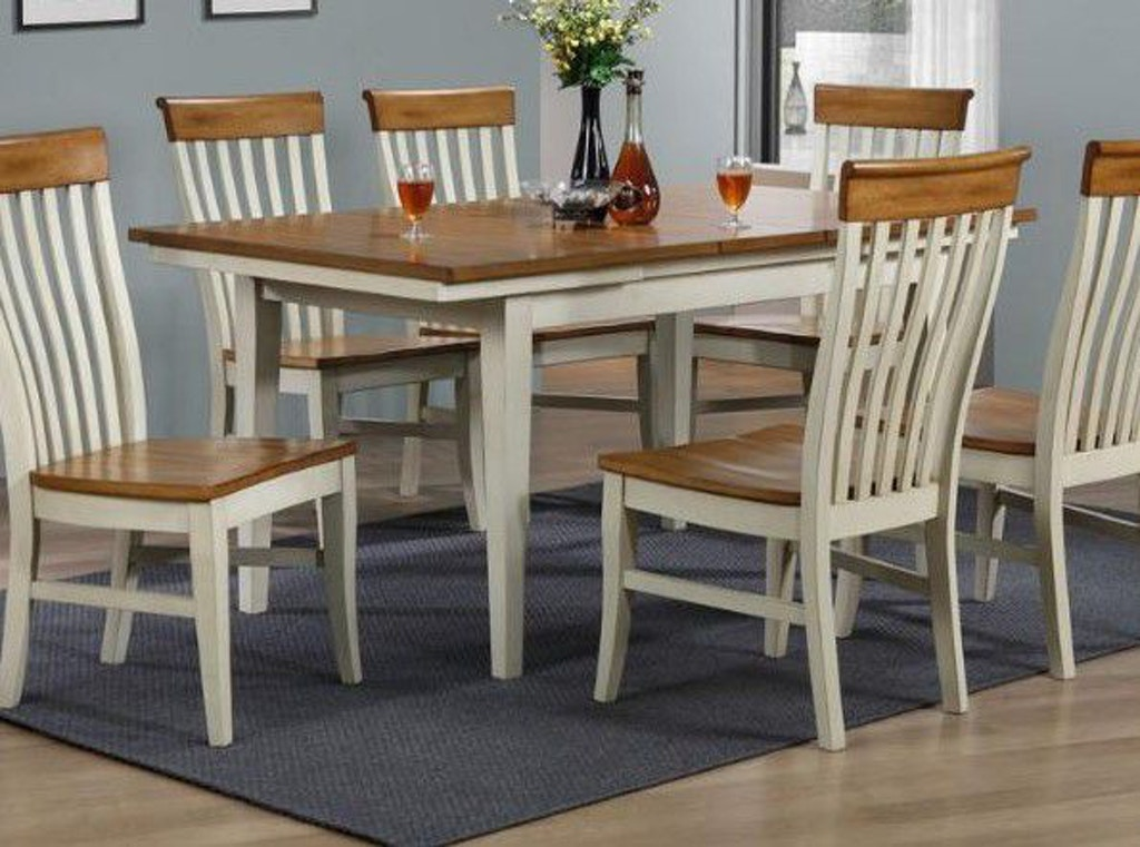 Enjoyable Eci Dining Room Dining Table 2199 10 20 T Weiss Furniture Cjindustries Chair Design For Home Cjindustriesco