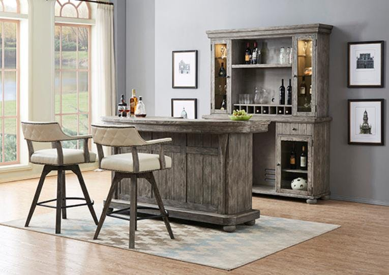 Picture of: Eci Back Bar And Hutch Wendell S Furniture Colchester Vt