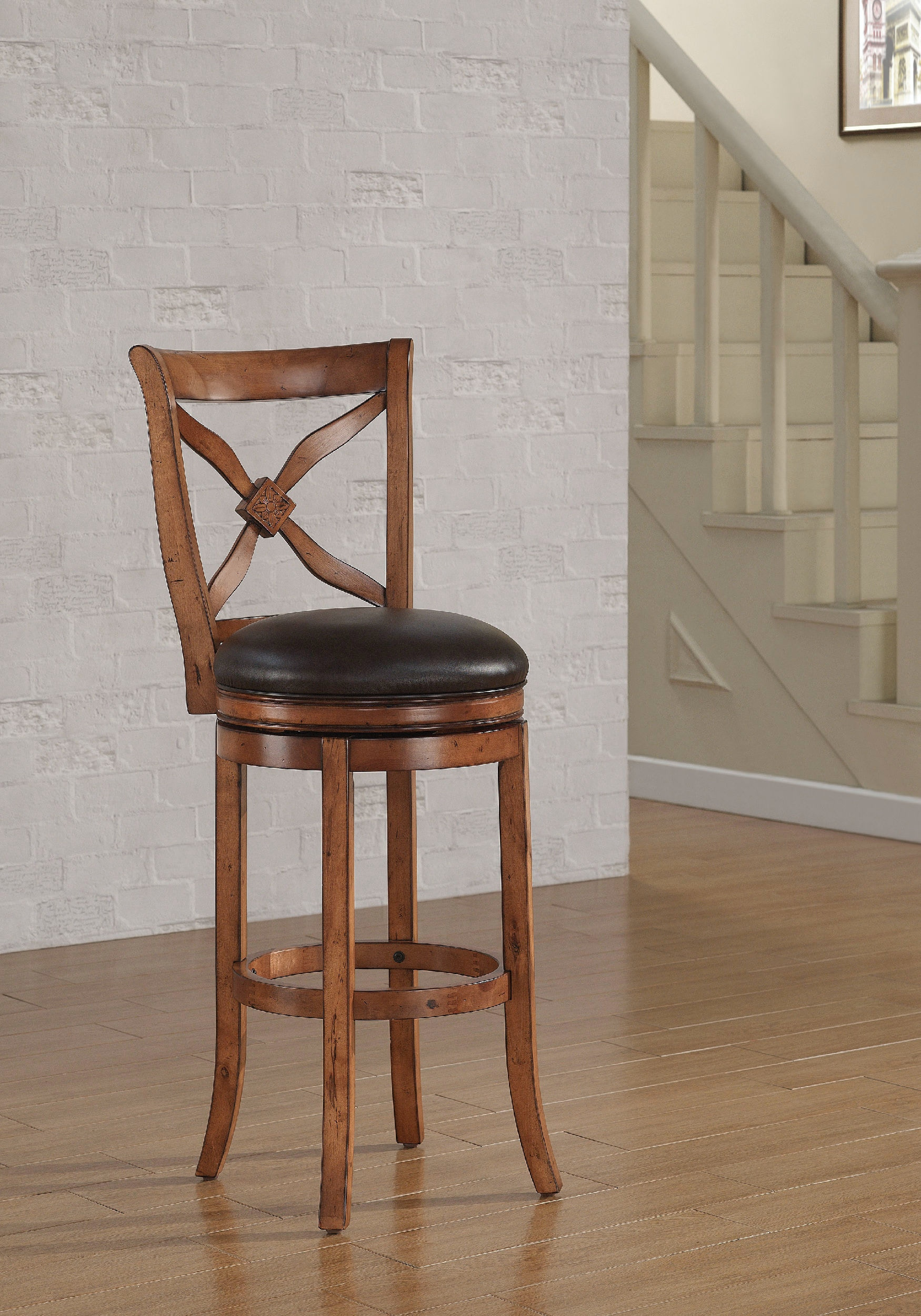 American Woodcrafters Bar And Game Room Bar Stool B2 201