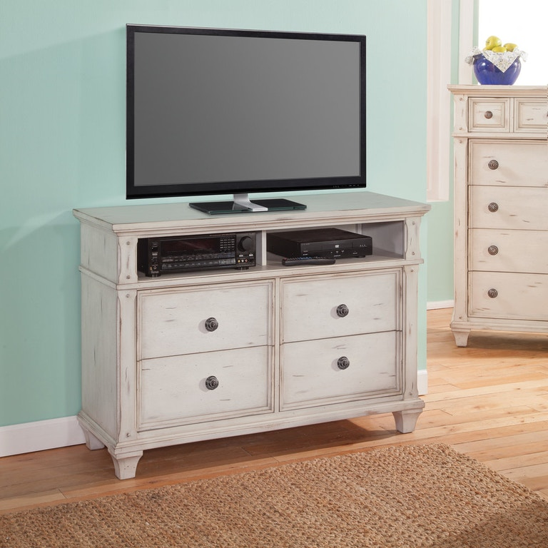 American Woodcrafters Bedroom Entertainment Chest 2410 232