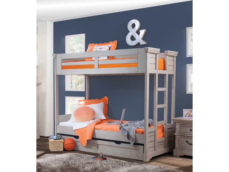 American Woodcrafters Youth 3 3 Bunk Bed Ends 7820 913 Indian