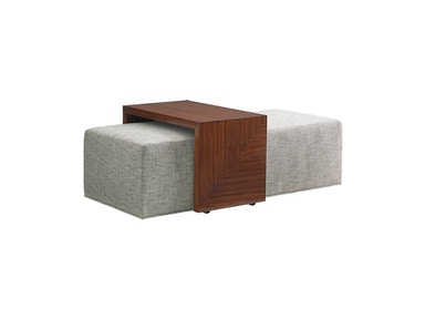 Broadway Cocktail Ottoman With Slide