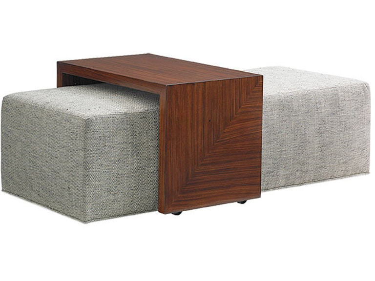 Lexington Broadway Cocktail Ottoman With Slide 1784-25T