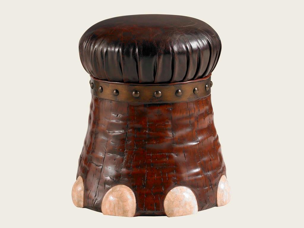 Groovy Lexington Bar And Game Room Elephant Foot Stool 4011 1097 Machost Co Dining Chair Design Ideas Machostcouk