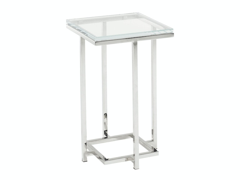Lexington Stanwyck Glass Top Accent Table 458-954C