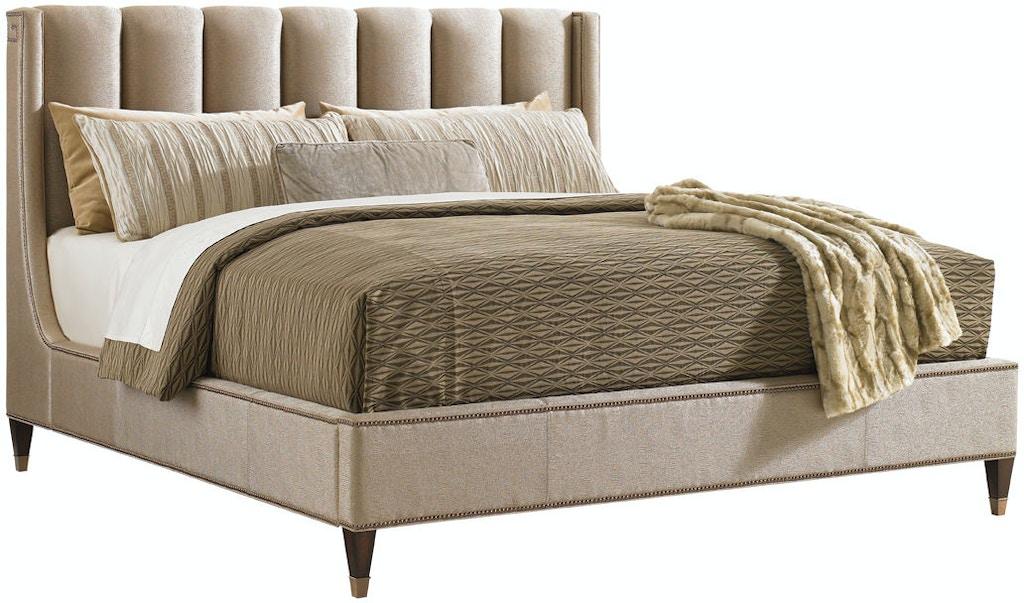 Lexington Bedroom Barrington Upholstered Platform Bed King 706 144c Stacy Furniture Grapevine