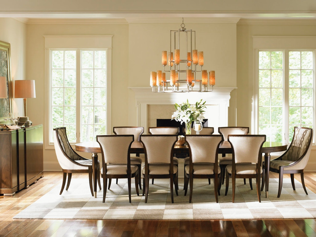 Lexington Dining Room Drake Oval Dining Table 706 872
