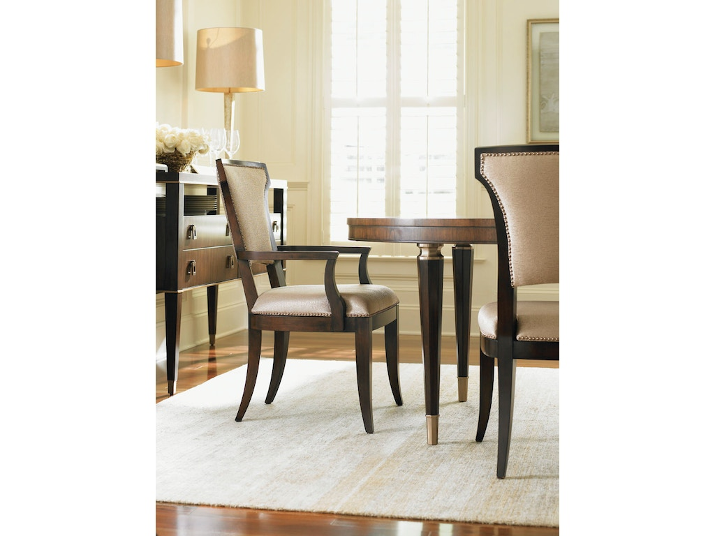 Lexington Dining Room Seneca Upholstered Arm Chair 706-883-01 ...