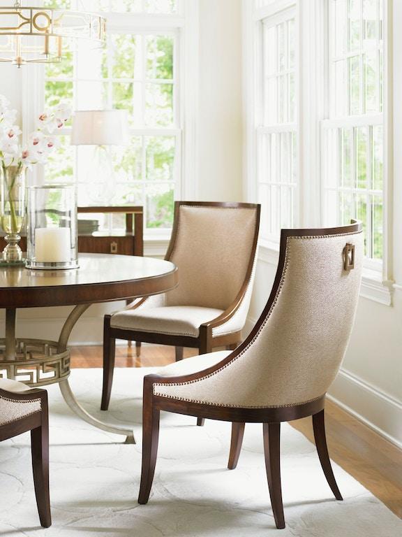 Lexington Talbott Upholstered Host Chair 706 884 01