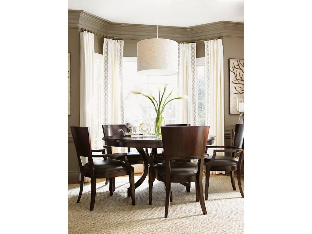 Lexington Dining Room Beverly Glen Round Dining Table 708-875C ...