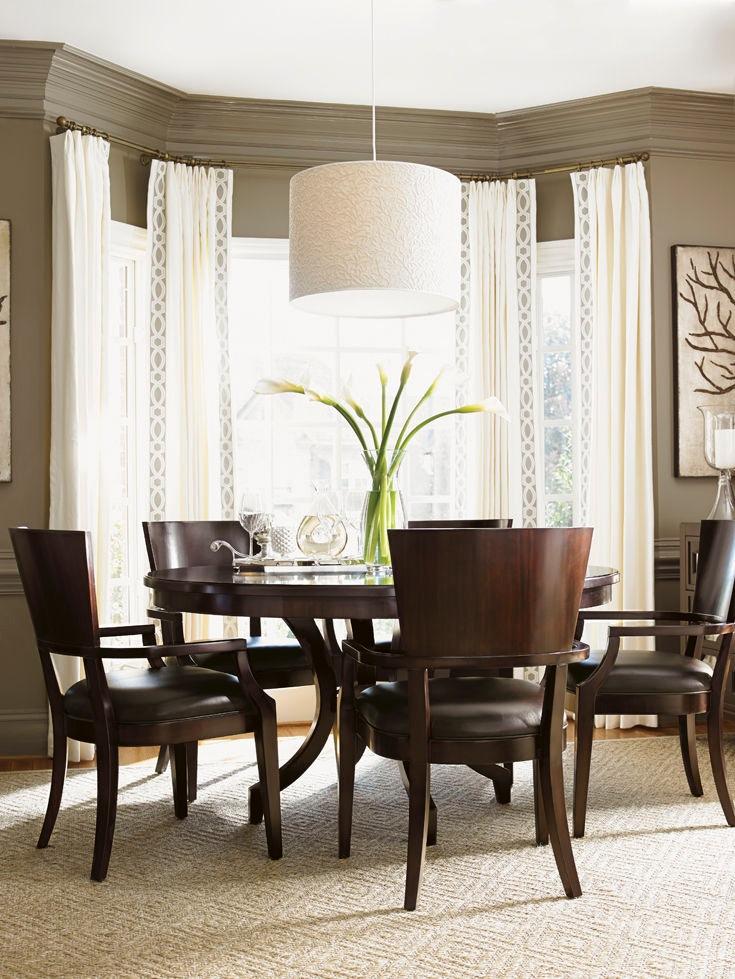 Lexington Beverly Glen Round Dining Table 708 875C