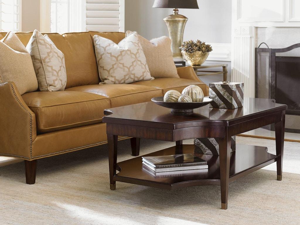 Lexington Living Room Richmond Rectangular Cocktail Table 708 945 Russell 39 S Fine Furniture