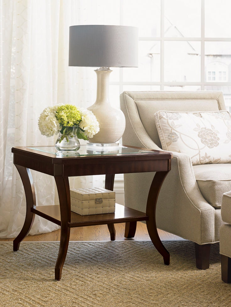 Lexington Living Room Hillcrest Lamp Table 708-953 - Today ...