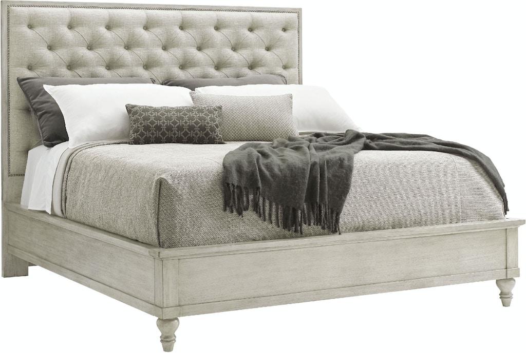 Lexington Bedroom Sag Harbor Tufted Upholstered Bed 5 0