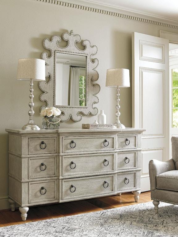 Lexington Furniture 714 233 Bedroom Barrett Triple Dresser