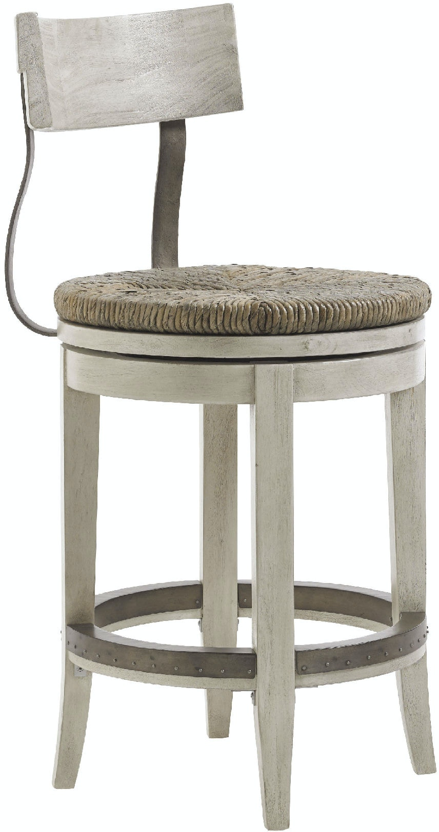 Lexington Bar And Game Room Merrick Swivel Counter Stool
