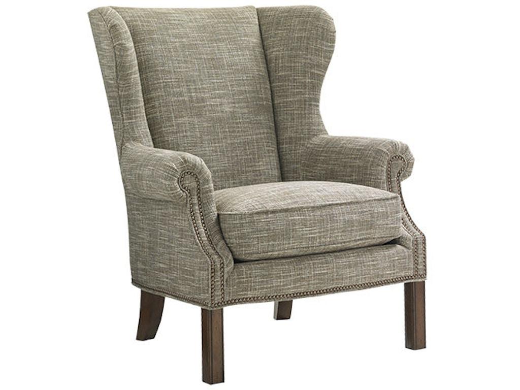 lexington living room logan wing chair 7207 11 lexington home brands thomasville nc. Black Bedroom Furniture Sets. Home Design Ideas