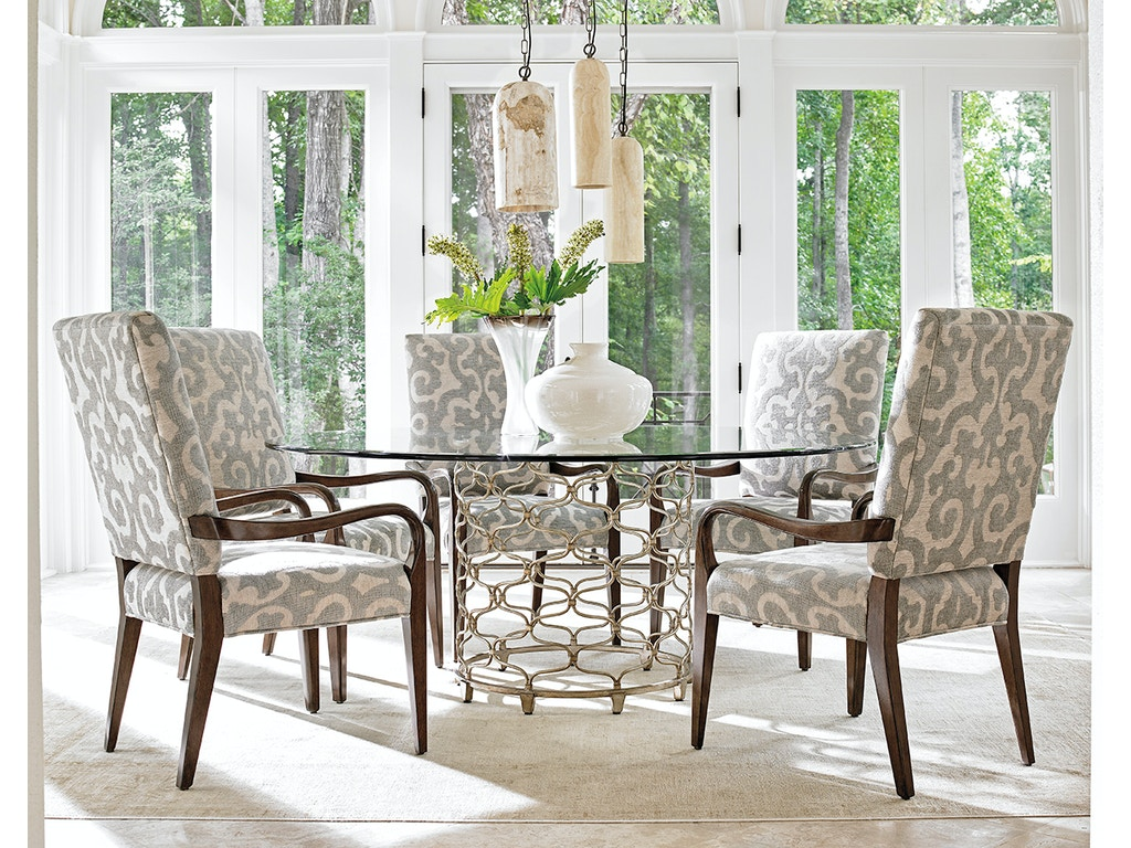 Lexington Dining Room Bollinger Round Dining Table Base 721-875 ...