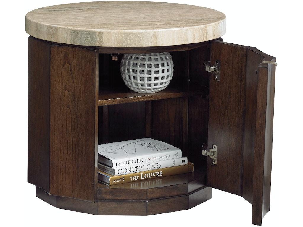 Lexington Living Room Glendora Drum Table 721 950