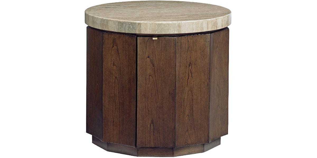 Lexington Living Room Glendora Drum Table 721 950 Howard Lorton Furniture Design Denver Co