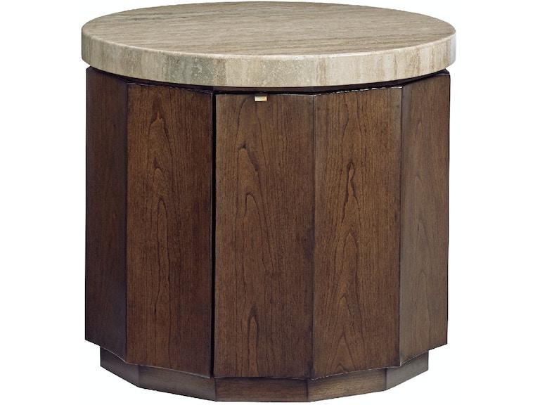 Lexington Living Room Glendora Drum Table 721 950 Cottswood Interiors Edmonton Ab