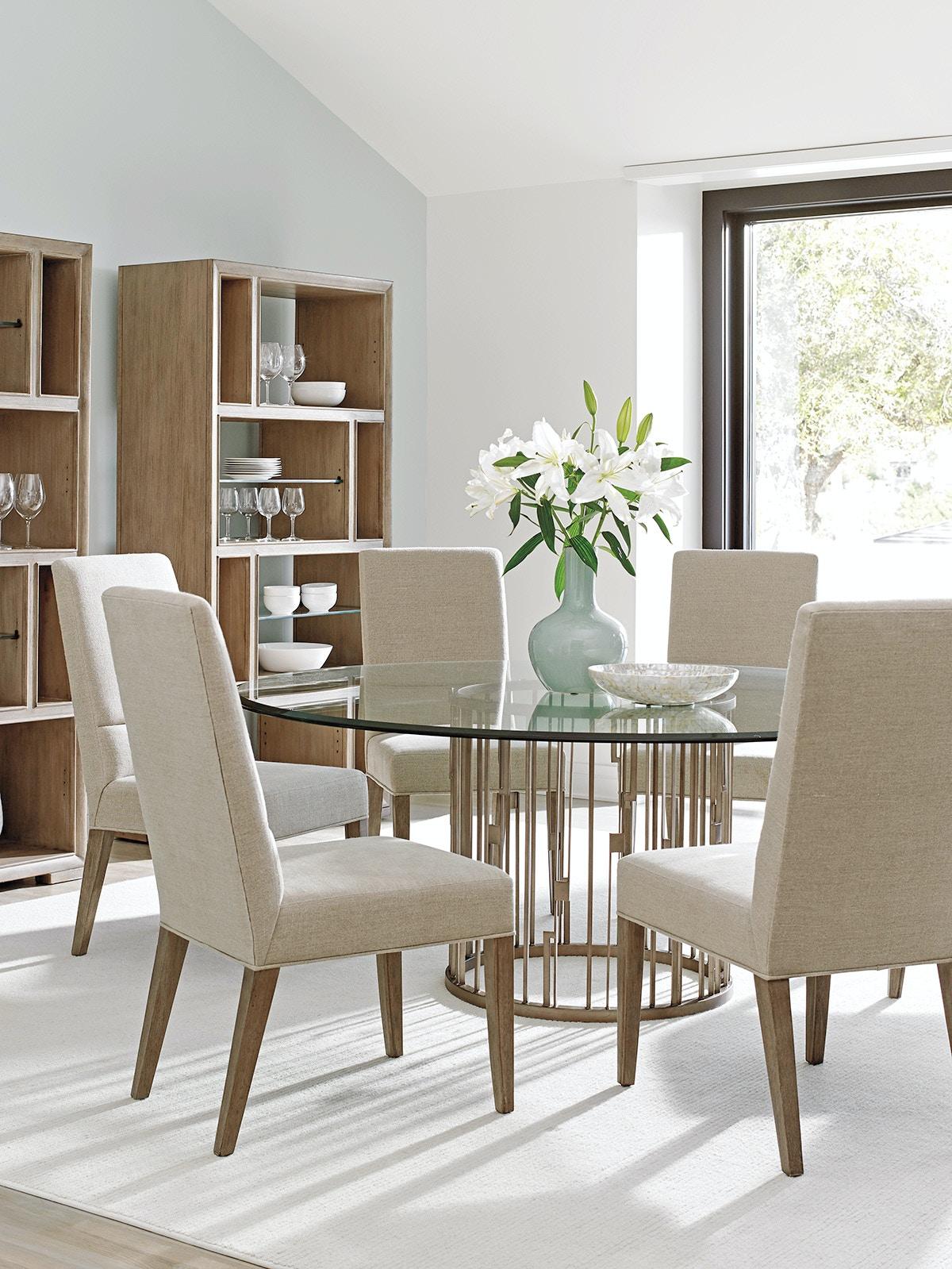 Lexington Rendezvous Round Metal Dining Table Base 725 875B