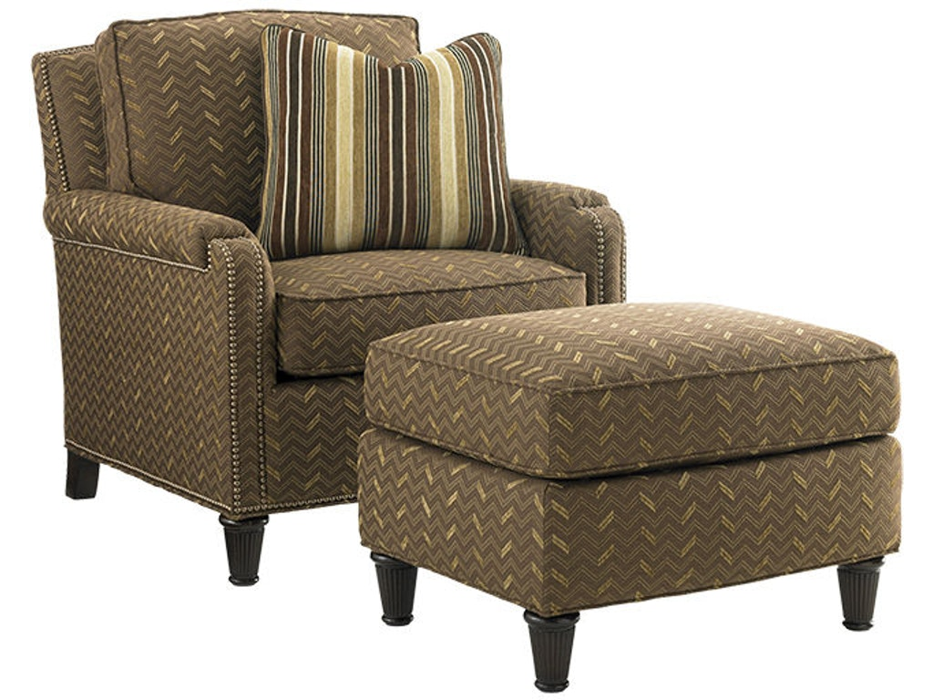 Lexington Living Room Bishop Chair 7274 11 Blockers Furniture Ocala Fl