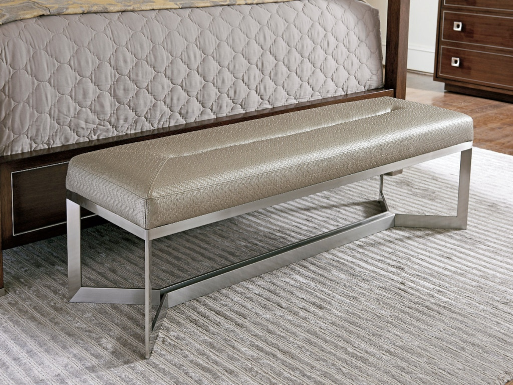 Bench By Bed: Lexington Bedroom Amador Upholstered Bed Bench 729-536C