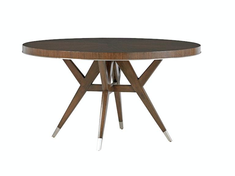 Lexington Dining Room Villa Grove Round Dining Table 729-870C ...
