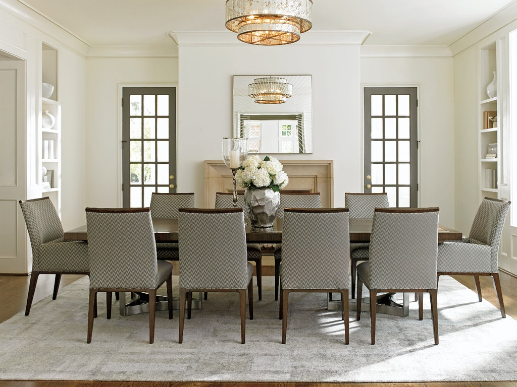Lexington Dining Room Beverly Place Rectangular Dining Table 729 ...
