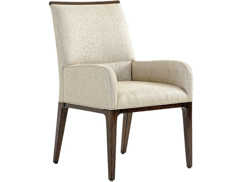 Collina upholstered arm chair lx01072988301 for Walter e smithe dining room sets