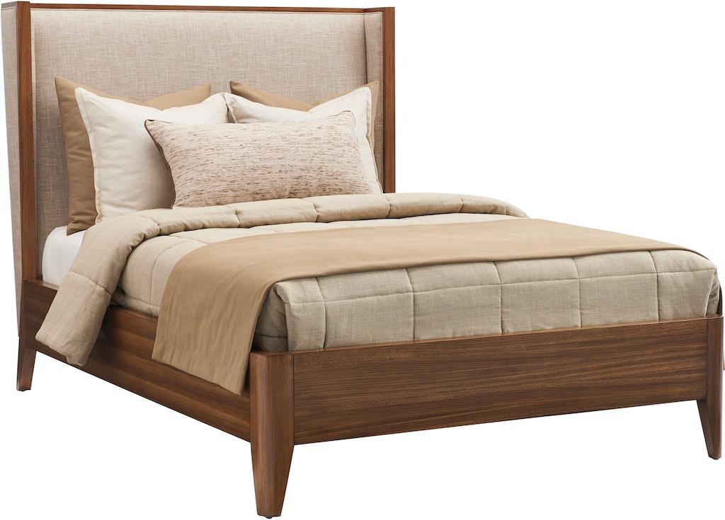 new product 79794 1cfa1 Lexington Bedroom Mirah Upholstered Panel Bed 5/0 Queen 734 ...