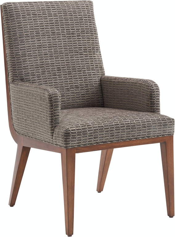 Lexington Dining Room Marino Upholstered Arm Chair 734-881 ...