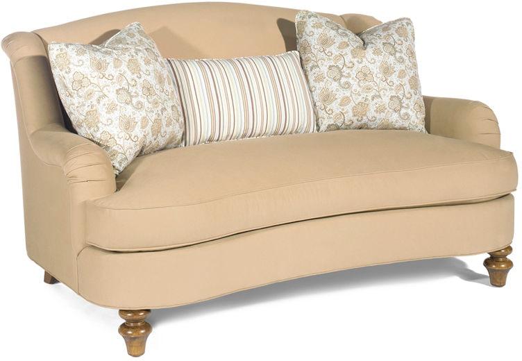 Lexington Living Room Diane Settee 7372 23 Kalin Home