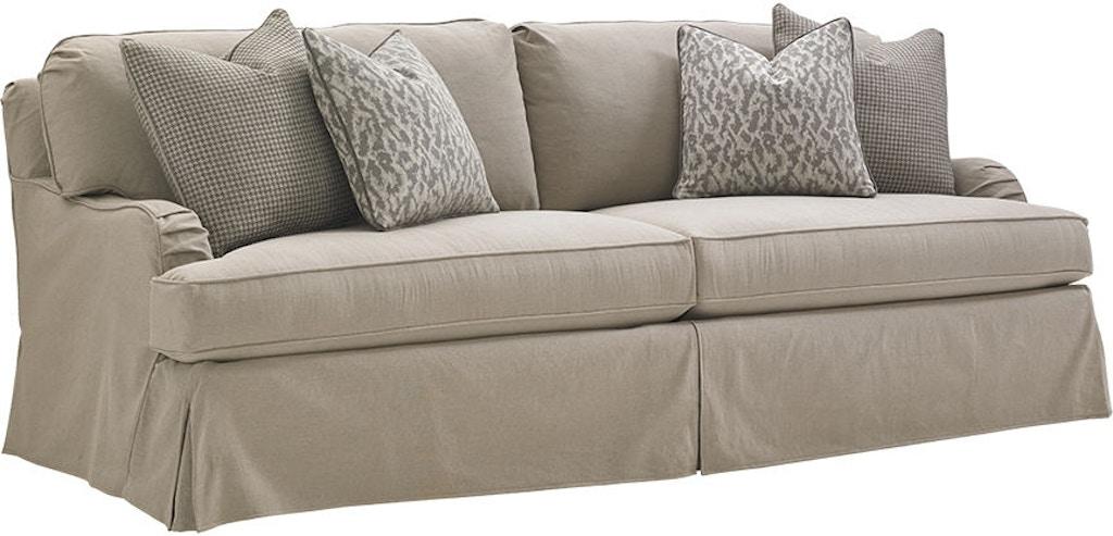 Lexington Living Room Stowe Slipcover Sofa 7476 33gy Louis Shanks