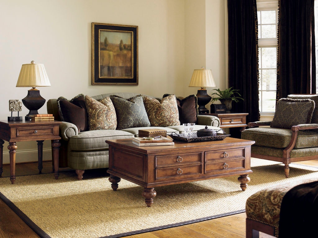 Lexington Ashford Tight Back Sofa LX760333 From Walter E. Smithe Furniture  + Design