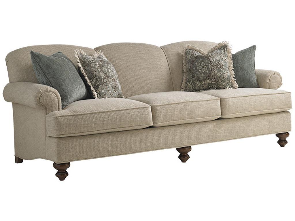 Lexington living room asbury sofa 7608 33 weinberger 39 s for K furniture mattress