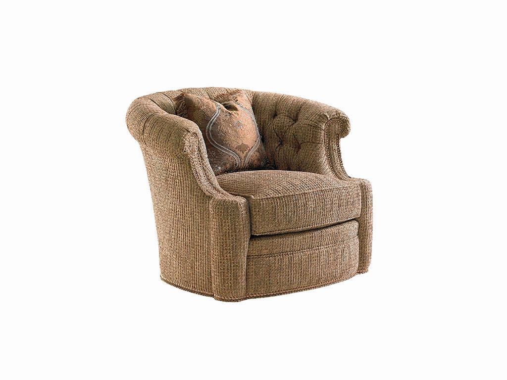 Lexington living room feroni swivel chair 7718 11sw for K furniture mattress